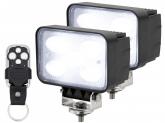 2x LED Arbeitsscheinwerfer 50W mit Fernbedienung
