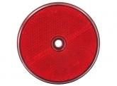 Rückstrahler rund in Rot