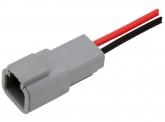 AMPHENOL Stecker mit Kabel (weiblich)