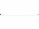 LED Light Bar 270W 32.400lm Blackline Temperatur Control flach