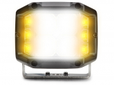 LED Arbeitsscheinwerfer 26W 2.195lm + LED Warnleuchte