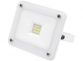 SMD LED Fluter 10W 900 Lumen Glas Design weiß