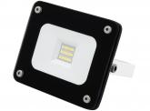 SMD LED Fluter 10W 900 Lumen Glas Design schwarz