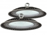 2x LED Hallenstrahler UFO High Bay 150 Watt 15.000 Lumen