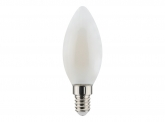 LED Fadenlampe Candle E14 matt 4,5W 470lm 2.700K