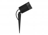LED Gartenstrahler 30W 230V mit Erdspieß und Farbfilter