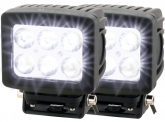 2x LED Arbeitsscheinwerfer Mega Spot 60 Watt 4.800 Lumen