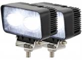 2x LED Arbeitsscheinwerfer 20 Watt 1.800 Lumen