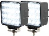 2x LED Arbeitsscheinwerfer 48 Watt 2.880 Lumen 30 Grad