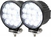 2x LED Arbeitsscheinwerfer 42 Watt 1.950 Lumen