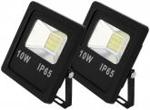 2x SMD LED Fluter flach 10 Watt 800 Lumen