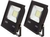 2x SMD LED Fluter flach 30 Watt 2.300 Lumen
