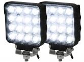 2x LED Arbeitsscheinwerfer 25W 2.100 Lumen IP69K
