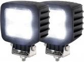 2x LED Arbeitsscheinwerfer 30 Watt 2.700 Lumen IP69K
