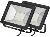 2x SMD LED Fluter kompakt 30 Watt 2.450 Lumen