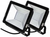 2x SMD LED Fluter kompakt 30 Watt 2.250 Lumen