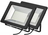 2x SMD LED Fluter kompakt 100 Watt 8.500 Lumen