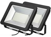 2x SMD LED Fluter kompakt 150W 12.750 Lumen