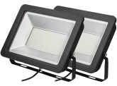 2x SMD LED Fluter kompakt 200W 17.000 Lumen