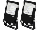 2x SMD LED Fluter 10 Watt 1.300 Lumen PCCooler