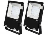 2x SMD LED Fluter 20 Watt 2.400 Lumen PCCooler