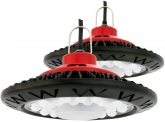 2x SMD LED Hallenstrahler UFO 50 Watt 3.800 Lumen