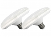 2x AdLuminis LED Low Bay Deckenlampe 36 Watt 3.400 Lumen
