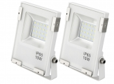 2x SMD LED Fluter 10 Watt 1.100 Lumen