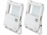 2x SMD LED Fluter 20 Watt 2.200 Lumen