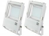 2x SMD LED Fluter 50 Watt 5.500 Lumen