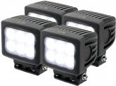 4x LED Arbeitsscheinwerfer 60W 4.800 Lumen