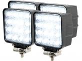 4x LED Arbeitsscheinwerfer 48W 60° 2.880 Lumen