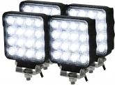 4x LED Rückfahrscheinwerfer ECE R23 25W 2.100 Lumen