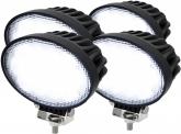 4x LED Arbeitsscheinwerfer 65W 60° 5.200 Lumen