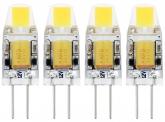 4x G4 LED Stiftsockellampe 12V 1W 110 Lumen