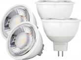4x LED Reflektorlampe MR16 dimmbar 6W 500 Lumen