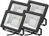4x SMD LED Fluter kompakt 20 Watt 1.700 Lumen