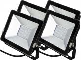 4x SMD LED Fluter kompakt 30 Watt 2.250 Lumen