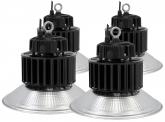 4x LED Hallenstrahler Al Reflektor 150W 19.500 Lumen