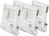4x SMD LED Fluter 10 Watt 1.100 Lumen