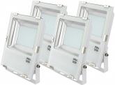 4x SMD LED Fluter 50 Watt 5.500 Lumen