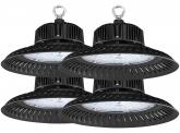 4x LED Hallenstrahler 100 Watt 9.500 Lumen