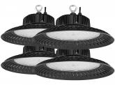 4x LED Hallenstrahler 150 Watt 15.100 Lumen