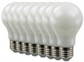 8x SMD LED Lampe A60 Bulb E27 matt 6W 470 Lumen