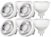 8x LED Reflektorlampe MR16 dimmbar 6W 500 Lumen