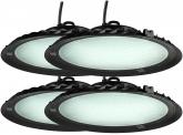 4x LED Hallenstrahler 150 Watt 13.500 Lumen