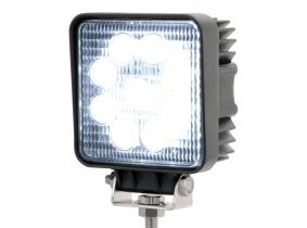 LED Arbeitsscheinwerfer eckig 27 Watt 1.620 Lumen 30 Grad