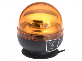 LED Akku Rundumleuchte mit Fernbedienung und Magnetfuß