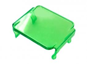 Lichtscheibe in Grün für LED Arbeitsscheinwerfer Würfel