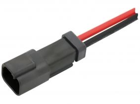 DEUTSCH Stecker mit Kabel (weiblich)